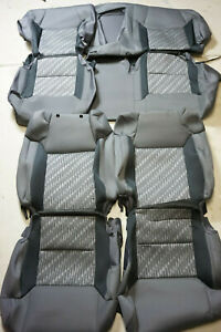 2014 2019 Toyota Tundra Crewmax Sr5 Trd Pro Oem Factory Cloth Seat Covers