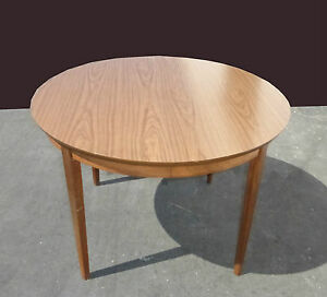 Vintage Mid Century Dining Room Table Card Table Dining Table By Stanley