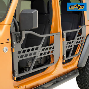 2018 2019 Jeep Wrangler Jl 4 Dr Only Tubular Door Safari Front Rear With Mirror