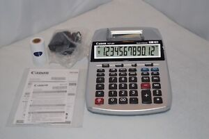 Canon Desktop Calculator P27 dh Clock Calendar New