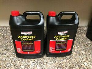 2 Gallons Antifreeze Coolant Genuine For Toyota red Color Long Life 002721llac