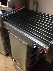 Apw Wyott Hrs 50s Commercial Hot Dog Roller Grill Made In Usa