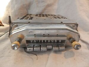Vintage Fomoco Car Radio Ford In Dash