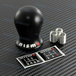 Black Nissan Nismo Duracon Racing Shift Knob Fits Gtr G35 G37 R35 Altima S13 S14