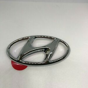 86300 D3100 Rear Trunk H Emblem For 2016 2018 Hyundai Tucson