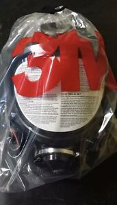 3m 7800s l Full Face Respirator Large Silicone Full Facepiece New