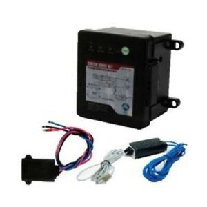 Trailer Break Away Breakaway Kit W Charger Switch Led Battery Test Electric