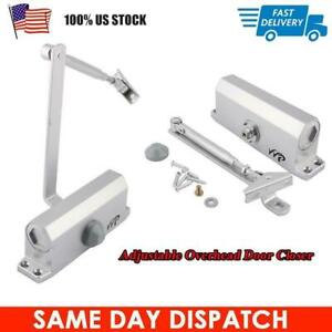 45 65kg Aluminum Commercial Door Closer Two Independent Valves Control Sweep us