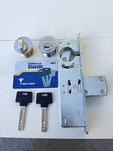 Adams Rite Type Storefront Door Deadbolt Lock With Multilock Cylinder