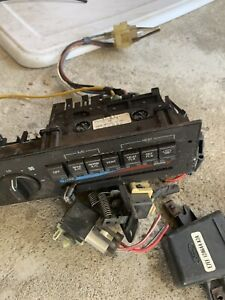 Parts Lot A c Heater Control Misc Elect 89 1990 Ford Thunderbird Supercoupe Sc