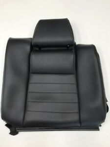2012 Ford Mustang Gt Coupe Leather Rear Seat Top Skin Black Lh 2010 2014