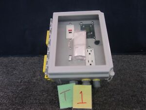 Junction Box Hoffman Complete Assembly Electrical Board Portable Stand Military