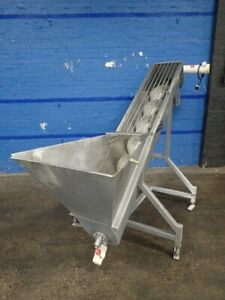 Auger Feeder S s 1hp By Hawkeye Food Machinery