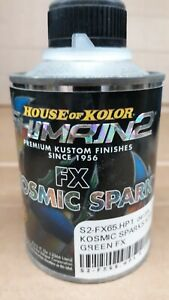 Shimrin 2 House Of Kolor S2 Fx65 Kosmic Spark Summertime Green 1 2 Pint