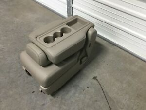 2011 2017 Honda Odyssey 2nd Row Leather Center Jump Seat Tan Plus One