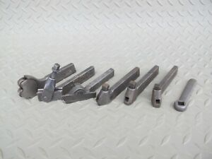 Lot Of 6 Williams Armstrong Metal Lathe Turning Tool Holders South Bend Lathe