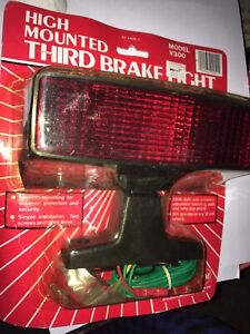 Vintage 1980 S Mounted Third Brake Light Peterson Manufacturing