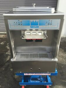 2012 Taylor 161 Soft Serve Ice Cream Frozen Yogurt Machine Warranty 1ph Air
