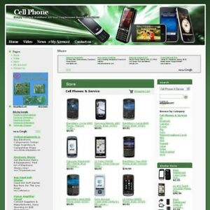 Established Mobile Cell Phone Online Business Website For Sale Free Domain Name