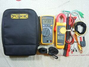Fluke 116 323 Hvac Kit With Accessories Fluke Case 57987 57988