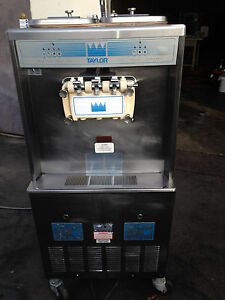 Taylor 339 Wate Cooled Soft Serve Frozen Yogurt Ice Cream Machine 100 3ph Water