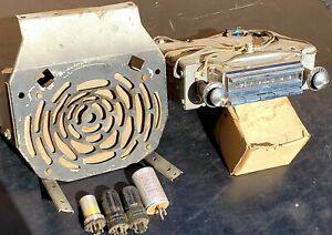 Original Gm 1955 1956 Chevrolet Chevy Wonderbar Radio W Amp And Tubes Nomad