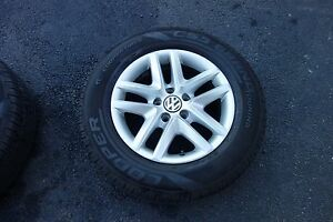 16 Inch Oem Alloy Wheels And Tires Fits 2011 Vw Volkswagen Tiguan
