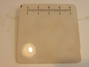 Vintage Antique Porcelain Apothecary Pharmacy Pill Tile