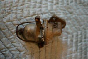 Authentic Genuine Willys Navy Ww2 Army Ford Jeep Parts 1942 Fuel Pump