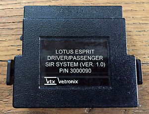 Lotus Esprit Dual sir airbag Cartridge For Tech 1 Tech 1a Mastertech