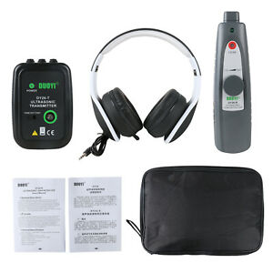 Ultrasonic Leak Detector Transmitter Air Water Dust Leak Pressure Vacuum Tester