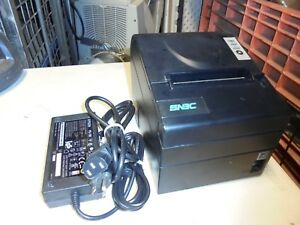 Snbc Btp r880np Point Of Sale Thermal Printer Rs 232 Serial W Power Supply