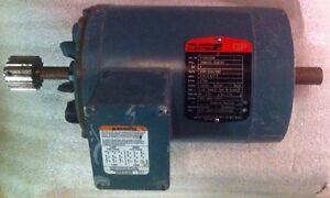 Reliance P14h7206 1 Hp 1725 Rpm 3 Ph Electric Motor