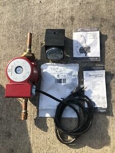 Grundfos 59896127 595926 Up15 18su Circulation Hot Water Pump Valve System