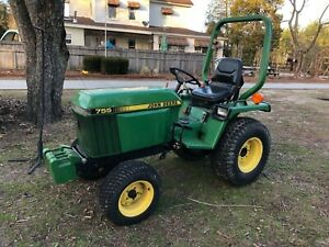 John Deere 755 1999 Low Hours