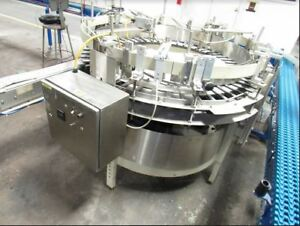 Hoppmann Bottle Unscrambler erector All Stainless Steel For Pharma Small Bottles
