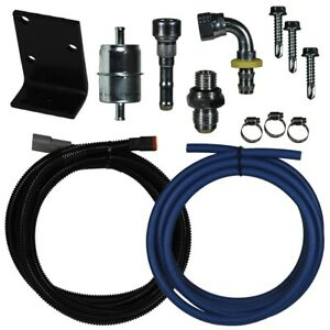 Fass Direct Replacement Fuel Pump Relocation Kit For 98 5 02 Dodge 5 9l Cummins