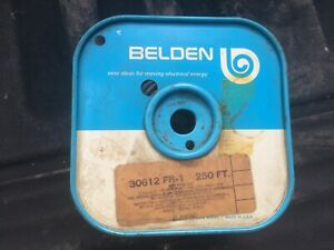 Belden 30612 Fr 1 Wire 250 Foot Spool 2 3 Complete Appliance Wire