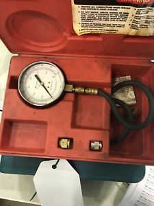 Snap on Tools Mt337a Fuel Injection Pressure Gauge Set