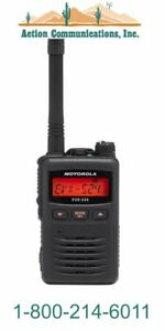 New Motorola Evx s24 Uhf 403 470 Mhz 3 Watt 256 Ch Black 2 way Radio sale