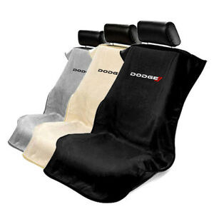 Quality Terry Velour Protective Seat Cover Towel For Dodge Dodge Logo