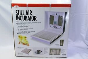 Little Giant Still air Incubator 9200 Holds 41 Chicken Eggs Poultry Made In Usa