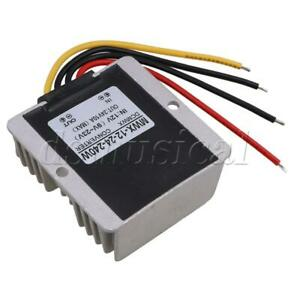 Waterproof Car Voltage Converter Dc12v To 24v 10a 240w Regulator Power Supply