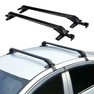 Car Roof Rack Rail Cross Bar Cargo Carrier Aluminum For Ford F 150 F 250 F 350