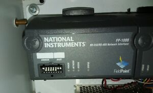 National Instruments Fp 1000 Fp ai 110 Fieldpoint Data Acquisition System Interf