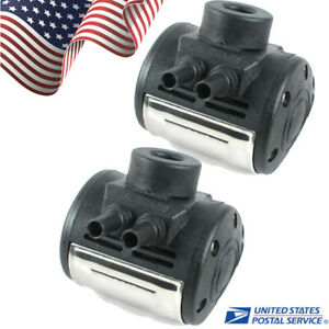2x Us L80 Pneumatic Pulsator For Cow Milker Milking Machine Dairy Farm Milker Ce