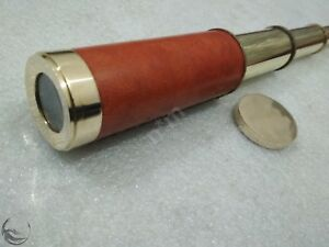 Vintage 14 Telescope Dolland London 1926 Spyglass Nautical Handheld Telescope