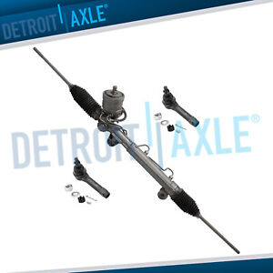 Power Steering Rack And Pinion 2 New Outer Tie Rod For Grand Prix W Magnasteer