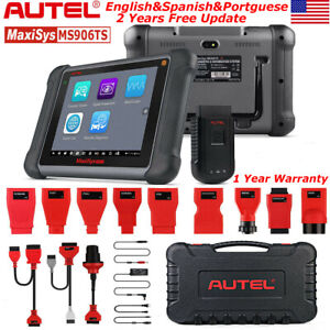 Autel Ms906ts Obd2 Bluetooth Wireless Diagnostic Service Tool Code Readers Tpms