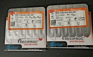 Vdw Reciproc Sterille File Endo M wire 25mm Assorted Lot 6pcs Lot 15 Packs